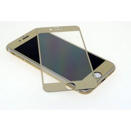 """Echt Glas Schutzfolie für Apple Iphone 6 Plus 5,5"""" Klar in Gold"""