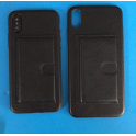 Leather Silicone Card Case
